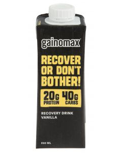 Gainomax Recovery Vanilja 250ml