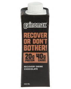 Gainomax Recovery Suklaa 250ml