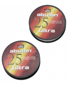 Abulon Ultra 0,25mm 2X100m Green