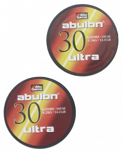 Abulon Ultra 0,30mm 2X100m Green