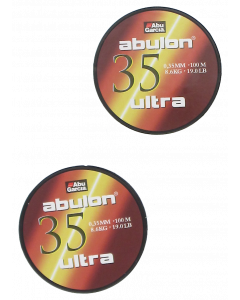 Abulon Ultra 0,35mm 2X100m Green