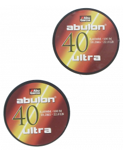 Abulon Ultra 0,40mm 2X100m Green