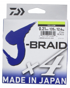 Daiwa J-Braid X4 kuitusiima 0,21 mm