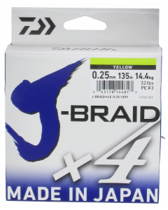 Daiwa J-Braid X4 kuitusiima 0,25 mm