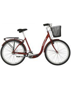 Relax 3v 46 cm aikuisten polkupyörä punainen