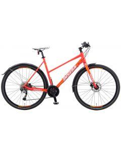 "Hybridipyörä Reflex 360 28"" 24-V 54cm Vaaleanpunainen"