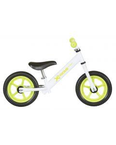 """Xtreme Kiddy Aluminum 12"""" potkupyörä valkoinen"""