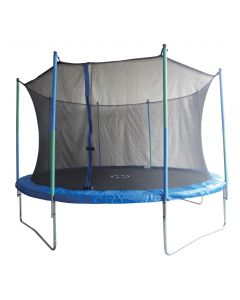 Body Sculpture trampoliini 4 m ja turvaverkko