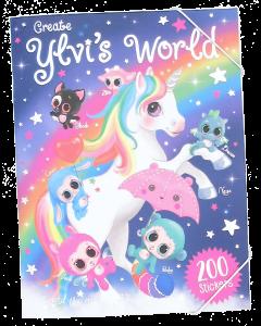 Ylvi's World tarra/värityskirja
