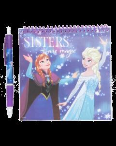 Frozen kierrelehtiö + kuulakynä