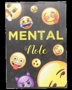 Emoji nidottu vihko