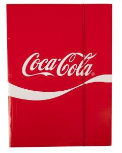 Coca-Cola kulmalukkokansio