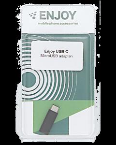 ENJOY USB-C - MicroUSB adapteri