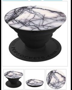 Popsockets älypuhelimen pidike/jalusta White Marble
