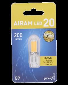 Airam led lamppu  2W G9