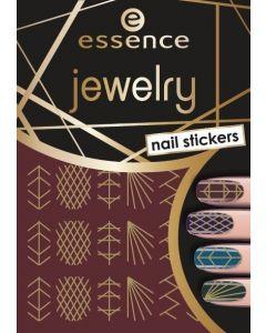 Essence jewelry nail stickers 09