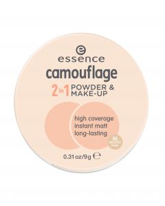 Essence camouflage 2in1 powder & make-up 30