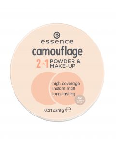 Essence camouflage 2in1 powder & make-up 40