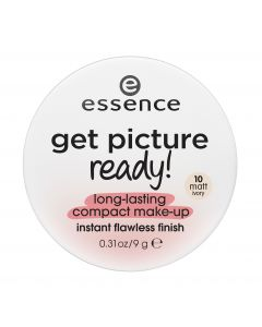 Essence get picture ready! Long-lasting compact make-up 10