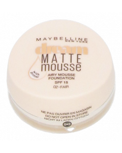 Dream Matte Mousse 002 Fair -meikkivoide
