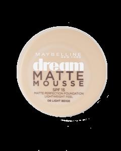 Dream Matte Mousse Fdt 008 Light Beige