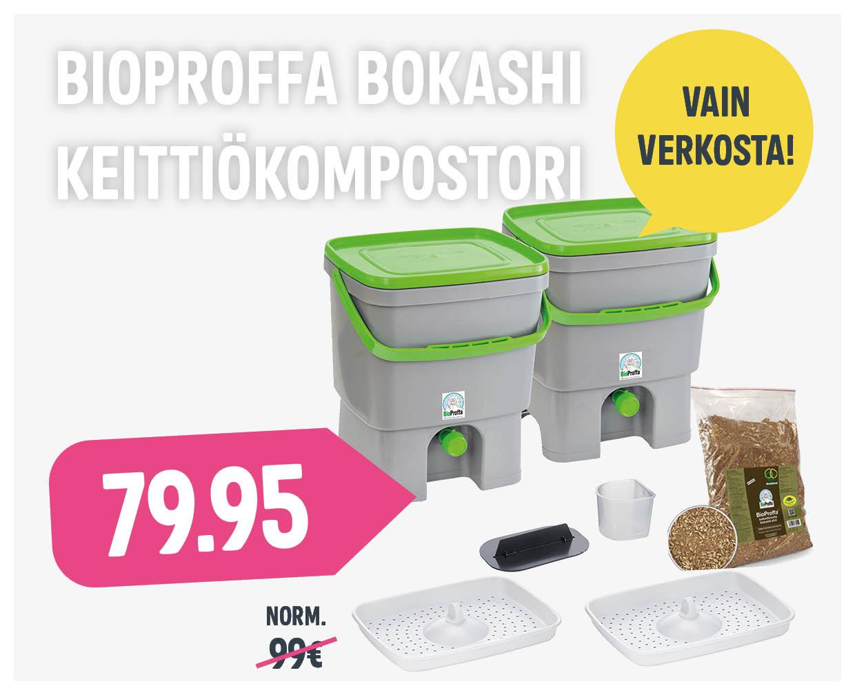 Boksi3 Bioproffa keittiökompostori