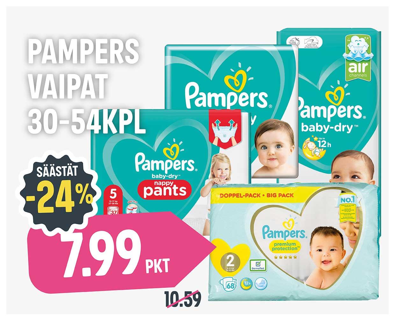 Boksi 2 - Säästäjäiset - Pampers