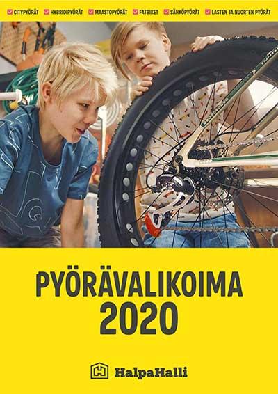 HalpaHallin pyörävalikoima 2020