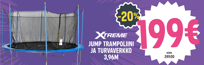 Jump trampoliini