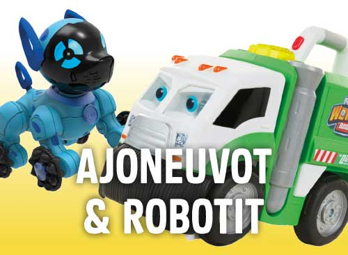 Lelut navigaatio: Ajoneuvot & robotit