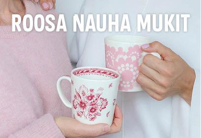 Arabia - Roosa Nauha mukit