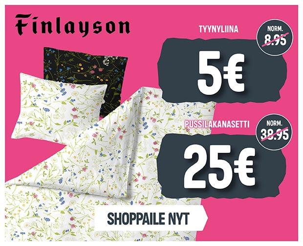 Fiilisbanneri - Finlayson