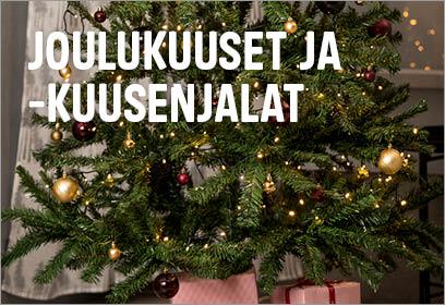 Joulu - joulukuuset ja -kuusenjalat