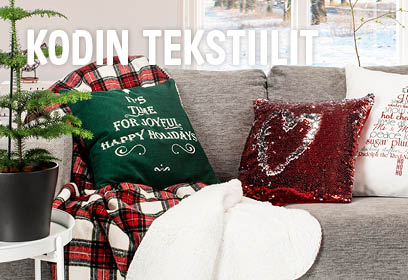 Joulu - kodin tekstiilit