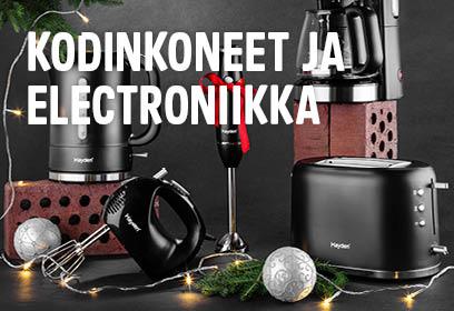 Joulu - kodinkoneet ja elektroniikka