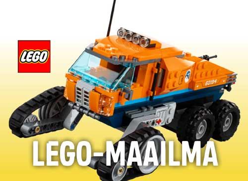 Lelut navigaatio: Lego-maailma