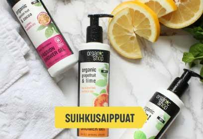 Organic Shop - Suihkusaippuat