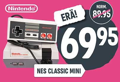 Sekundääri 3 - Nintendo