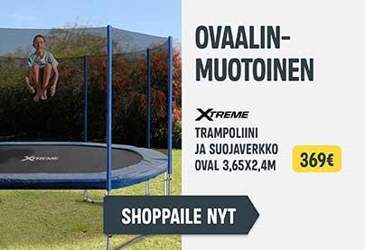 Sekundääri5 - trampoliini Oval