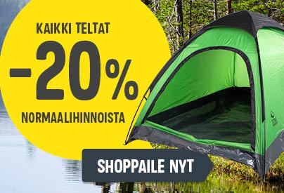 sekundäärinosto 1 - kaikki teltat -20pros