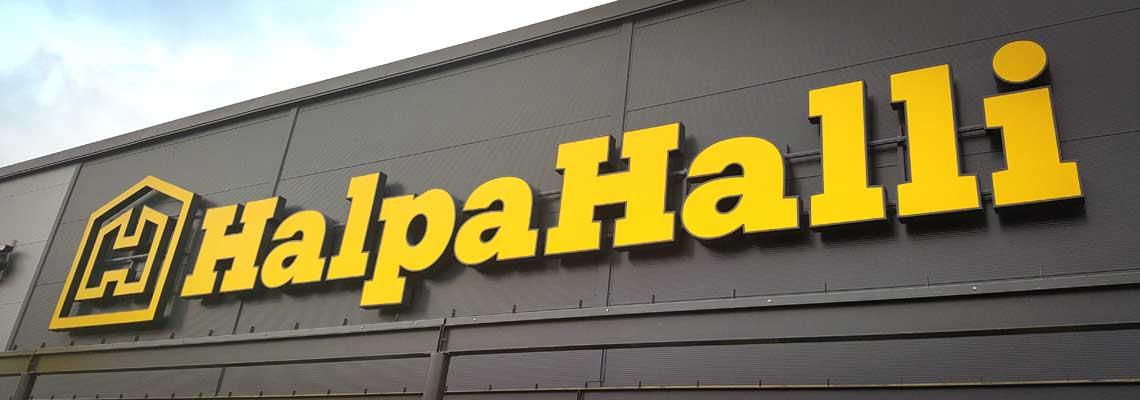 Kotimainen Halpa-Halli on perheyhtiö, joka on toiminut vähittäiskaupan alalla yli 40 vuotta.