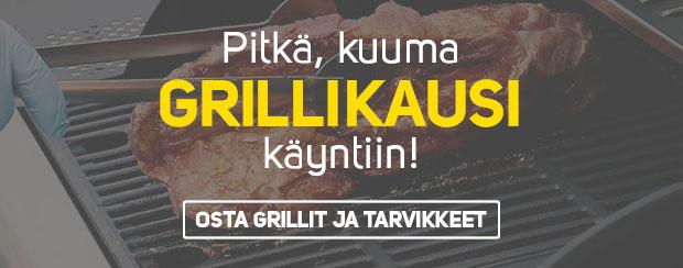 Nyt grilli kuumaksi ja kalat savustukseen!