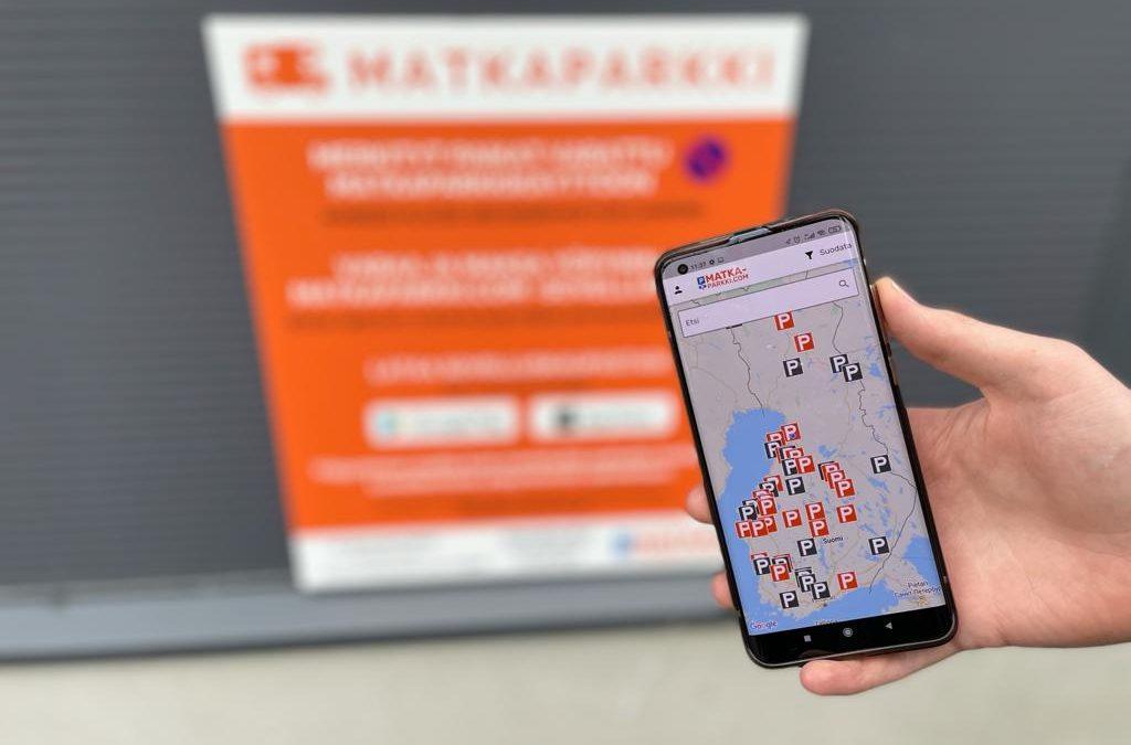 Matkaparkki.com avaa matkaparkkisovelluksen ja yli 70 matkaparkkia Suomeen