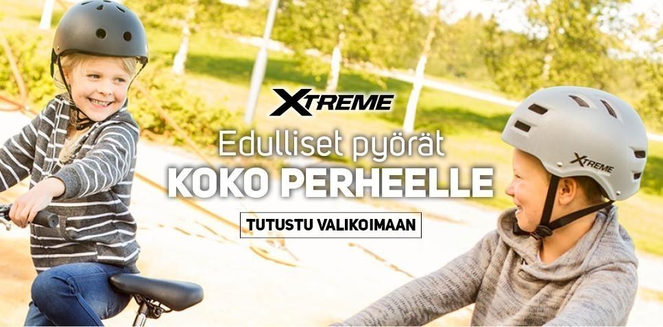 Xtreme - edulliset pyörät koko perheelle!